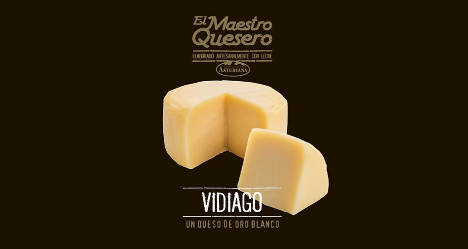 Queso Vidiago, un queso de oro blanco