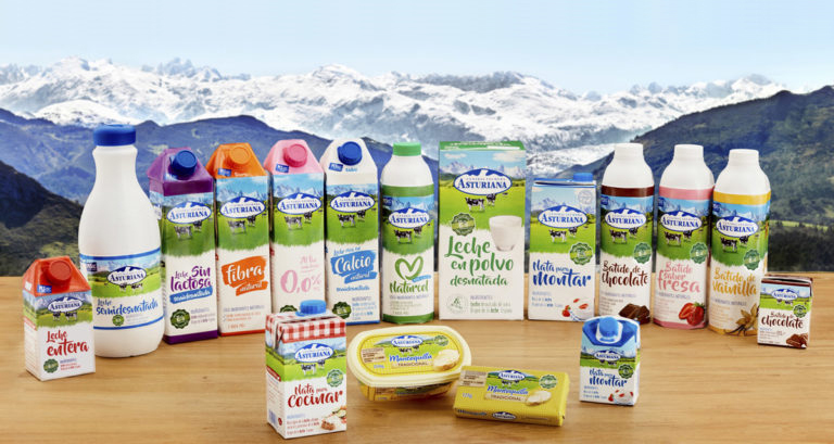 Central Lechera Asturiana entra las marcas más relevantes en España
